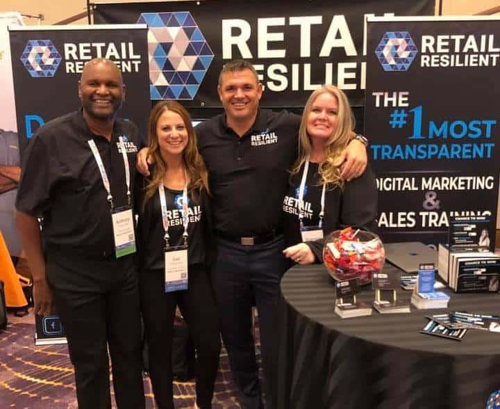 retail resilient team photo gail rubinstein shannon tunall