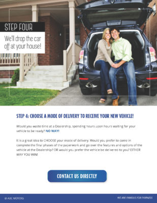 step four we will drop the car at your house ebook example