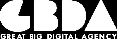 gbda white logo