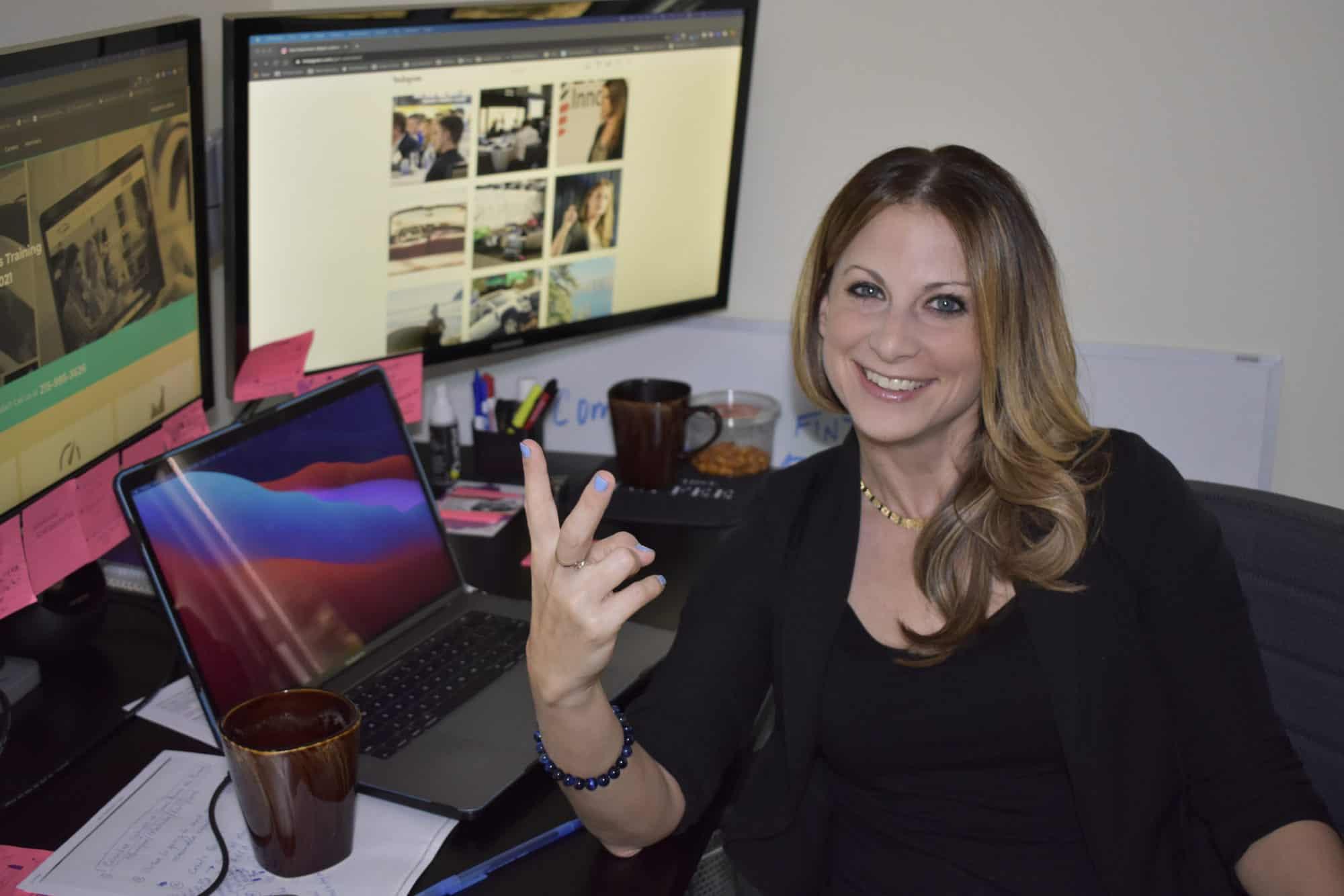 Gail Rubinstein CEO Retail Resilient at work